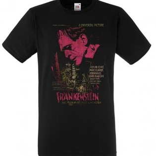 CAMISETA FRANNKENSTAIN