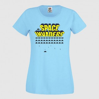 CAMISETA CHICA SPACE INVADERS