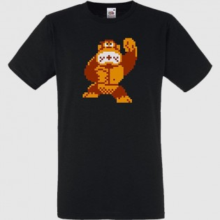 CAMISETA DON KONG 8 BITS