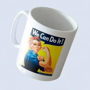 TAZA WE CAN DO IT