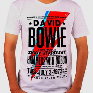 CAMISETA BOWIE IN PERSON